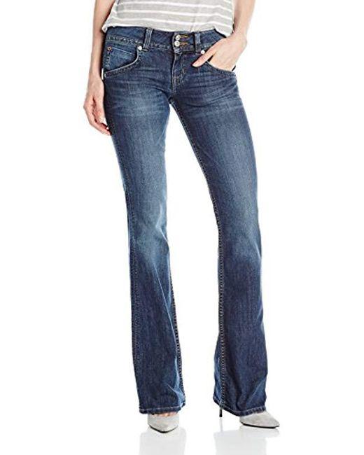 Hudson - Blue Signature Midrise Bootcut Jean In Spy Glass - Lyst