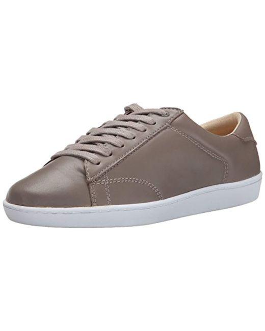 Nine West - Gray Rukkus Leather Fashion Sneaker - Lyst