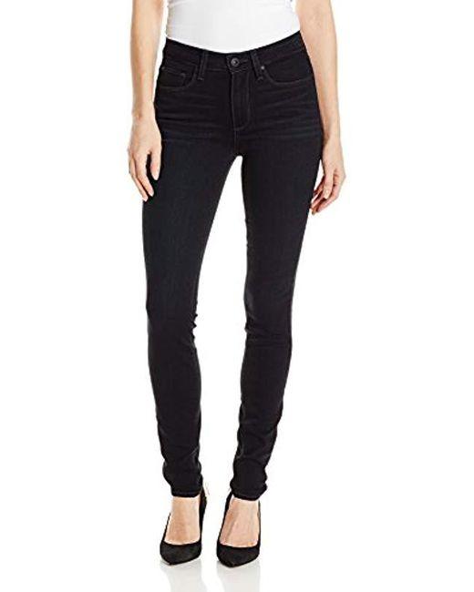 PAIGE - Multicolor Hoxton Ultra Skinny Jeans - Lyst