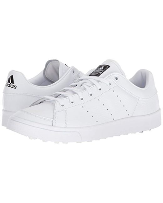 low priced 7fa71 e7edf ... Adidas - White Adicross Classic Golf Shoes for Men - Lyst ...