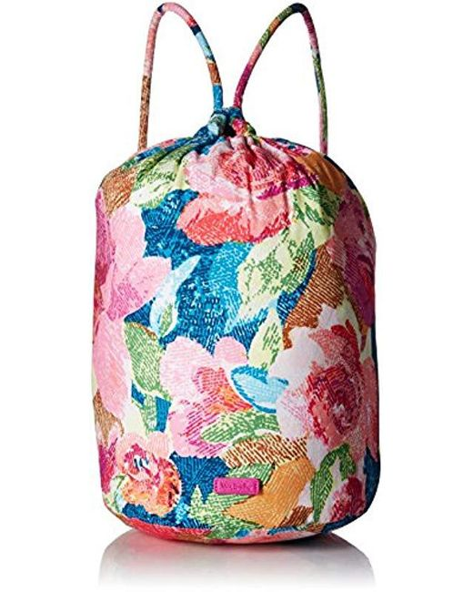 Vera Bradley Multicolor Iconic Ditty Bag Signature Cotton Lyst