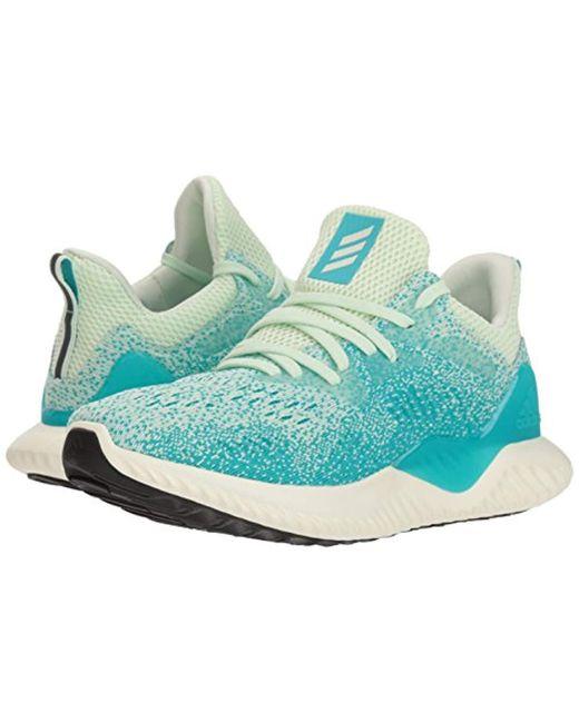 info for 0f3aa f30d3 ... Adidas - Green Alphabounce Beyond W Running Shoe - Lyst ...