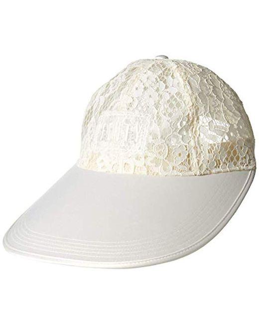 4921f6f96a877 Women's Fenty Oversized Visor Cap, Vanilla Ice, Adult
