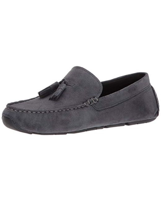 Cole Haan - Gray Rodeo Tassel Driver Loafer - Lyst