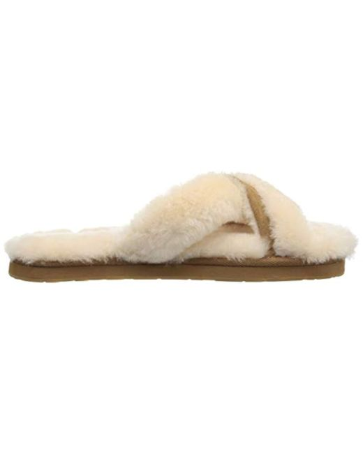 df9be513db7 Lyst - UGG Abela Slipper in Natural - Save 40%