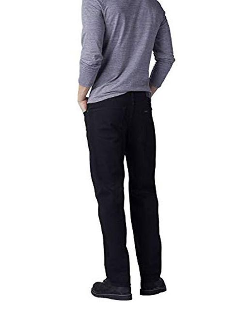 4a67d7b5 ... Lee Jeans - Black Big-tall Modern Series Extreme Motion Relaxed Fit Jean  for Men