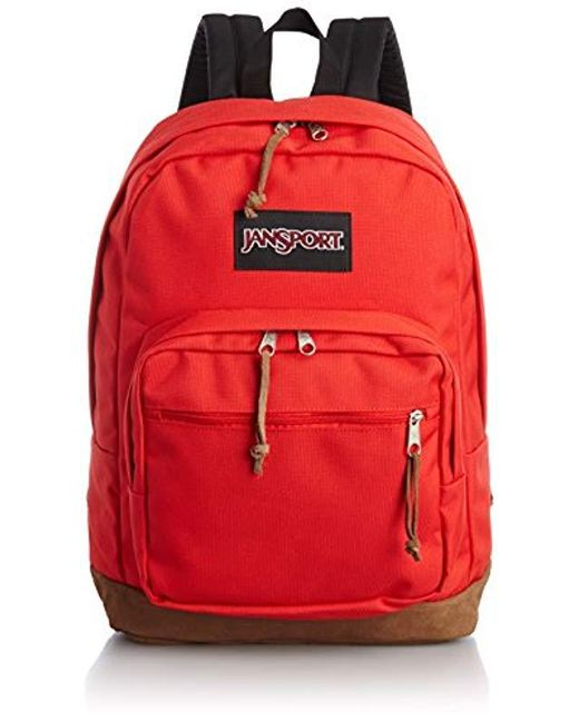 65e7f8b59 Jansport - Red Right Pack Laptop Backpack - Lyst ...