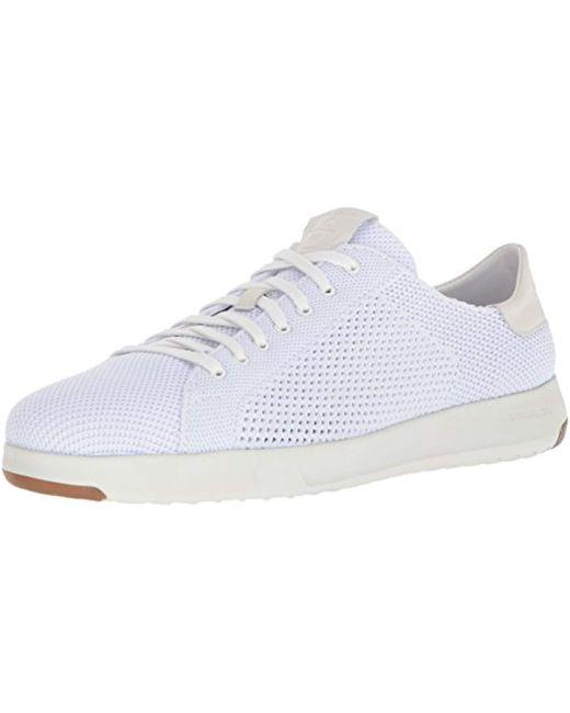 Cole Haan - White Grandpro Tennis Stitchlite Sneaker for Men - Lyst