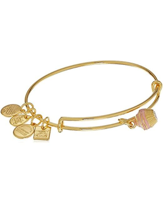 ALEX AND ANI - Metallic Charity By Design, Cupcake Ii Ewb Bangle Bracelet - Lyst
