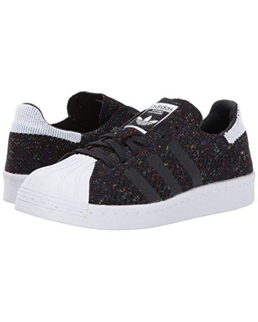 buy popular eb06a caf22 ... Adidas Originals - Black Superstar 80s Pk Running Shoe for Men - Lyst  ...