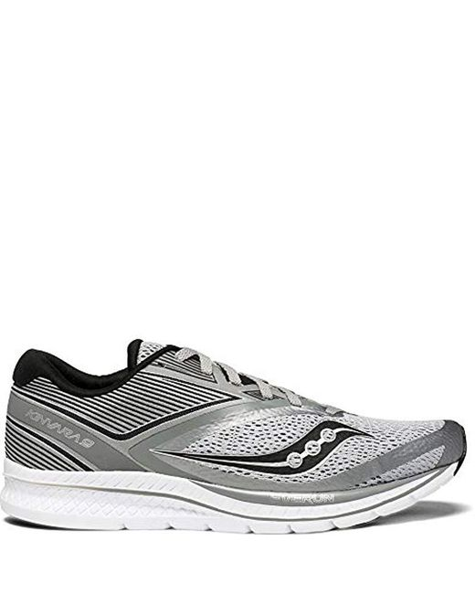 Saucony Gray Kinvara Running Shoes for men