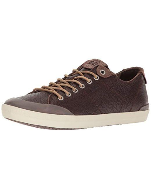 Geox - Brown M Smart 74 Fashion Sneaker for Men - Lyst