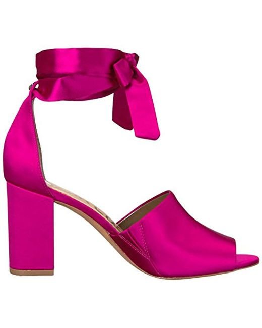 760ba51f997a Lyst - Sam Edelman Odele Heeled Sandal in Pink - Save 30%
