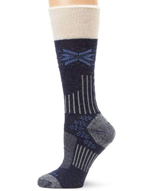 ddacd937cd Carhartt. Women's Blue Snow Flake Sherpa Cuff Graduated Compression Boot  Sock