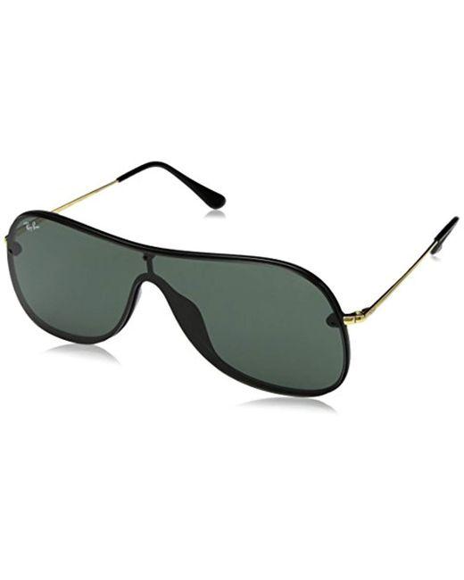 Ray-Ban - 0rb4311n Non-polarized Iridium Aviator Sunglasses, Black, 0 Mm - Lyst