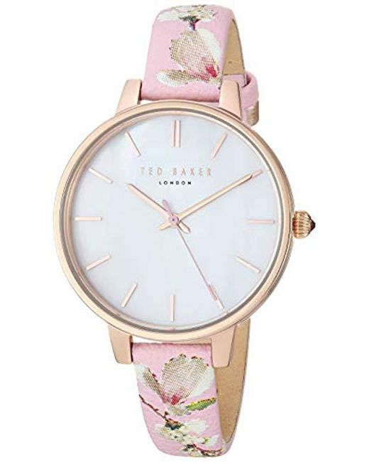 5b638c519 Ted Baker - Multicolor  kate  Quartz Stainless Steel Casual Watch - Lyst ...