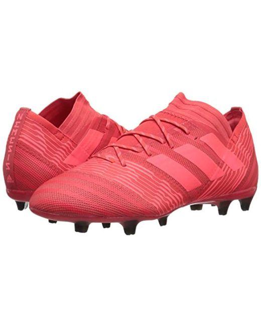 663fb71e7 adidas Nemeziz 17.2 Fg Soccer Shoe in Red for Men - Save 25% - Lyst
