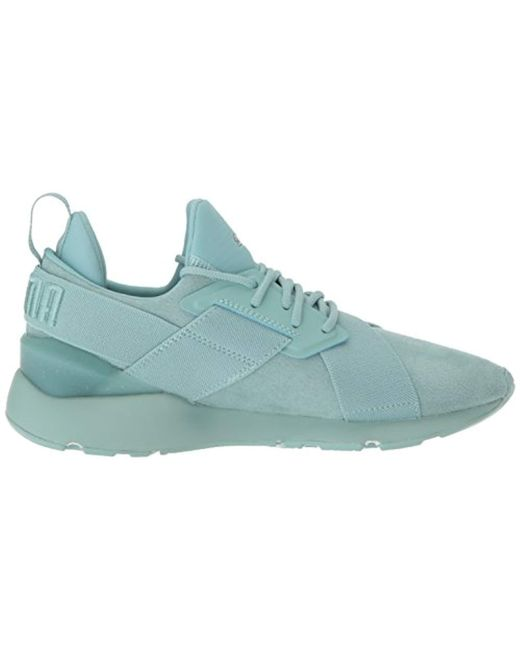ce9364741084 Lyst - PUMA Muse Elevated Wn Sneaker in Blue - Save 4%