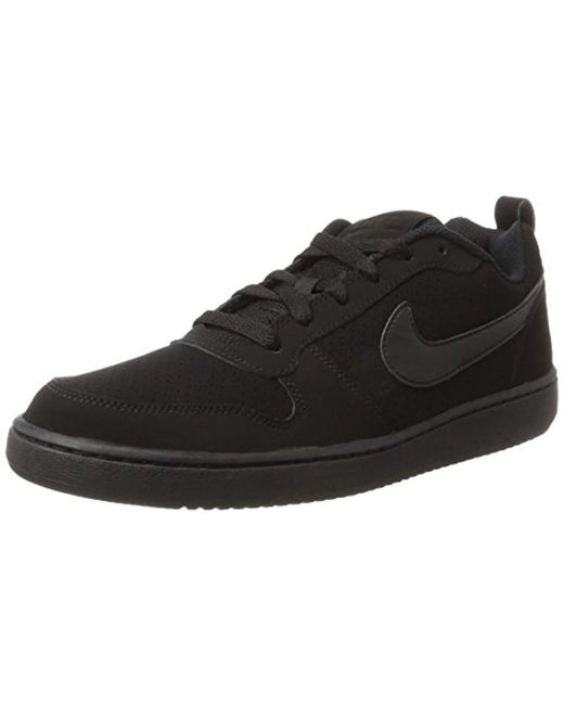 b1c1f651d Nike - Black Court Borough Low Basketball Shoe for Men - Lyst ...