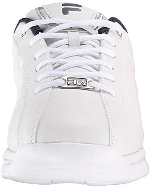 1617edaae2336 Men's White Fulcrum 3 Cross Sneaker