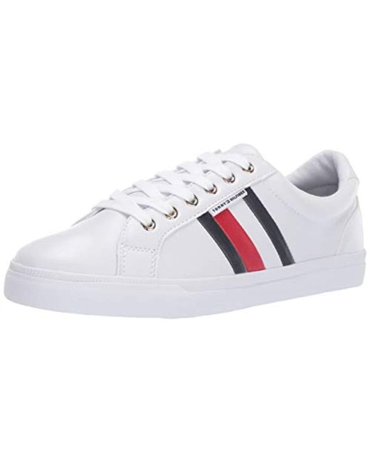 f16d9e63d8a2bc Lyst - Tommy Hilfiger Lightz Sneaker in White - Save 18%