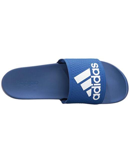 700ce6b7fd9 Lyst - adidas Adilette Cf Ultra C Cross-trainer Shoe in Blue for Men ...