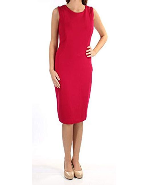 Elie Tahari - Red Cailyn Dress - Lyst