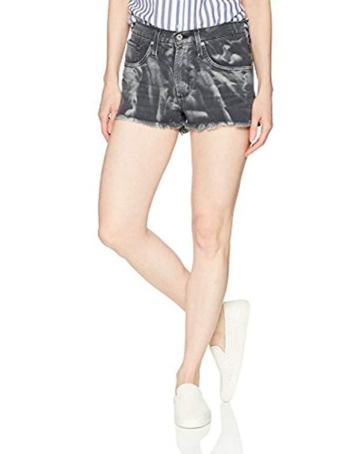 James Jeans - Blue Marlo High Rise Mom Shorts In Renegade, - Lyst