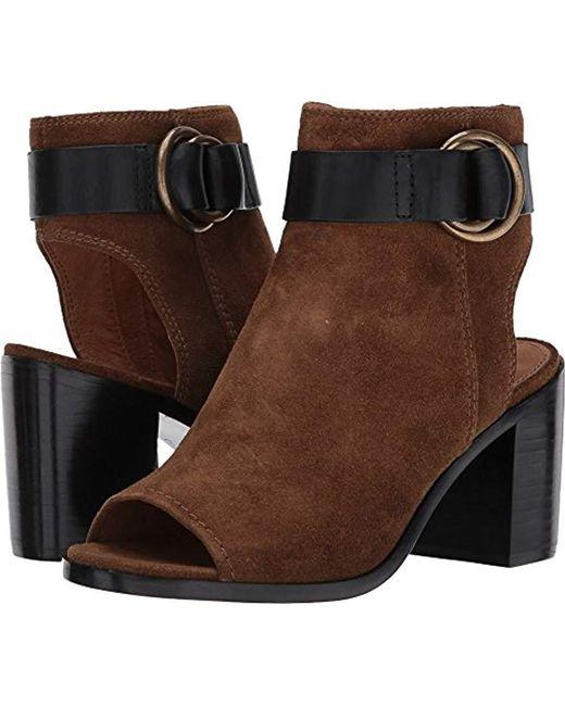 Frye - Brown Danica Harness Boot - Lyst