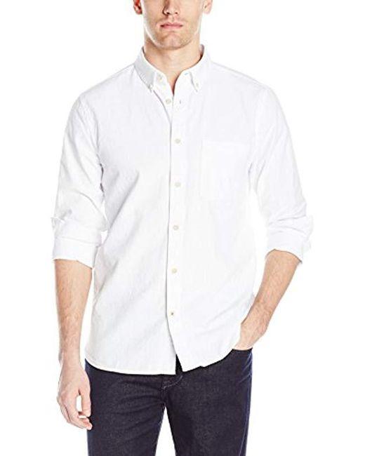 Joe's Jeans - White Sandoval Woven Vintage Japanese Oxford for Men - Lyst