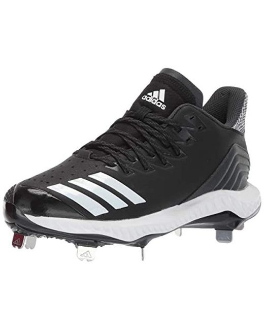 uk availability 12b4b 7dca0 Adidas - Black Icon Bounce Cleat for Men - Lyst ...