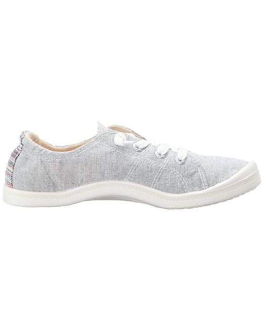 71cbf9ab ... Roxy - Gray Rory Slip On Sneaker Shoe - Lyst ...