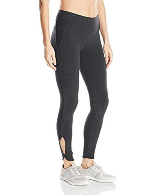 Marc New York - Gray Long Cut Out Legging - Lyst