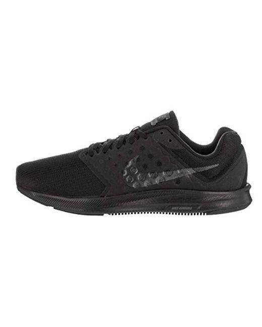 0ab23b1bd06ea ... Nike - Black Downshifter 7 Running Shoe for Men - Lyst ...