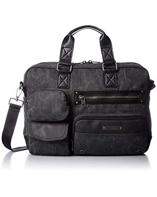 DIESEL - Black Superrgear Touch Gear Case Briefcase for Men - Lyst