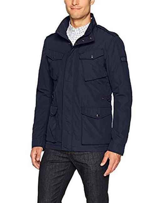Woolrich - Blue Travel Jkt for Men - Lyst