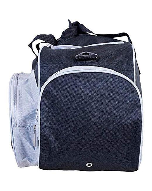 ... U.S. POLO ASSN. - Blue Nylon Duffel Bag 457503fac7fda