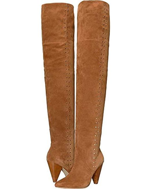 Joie - Brown Gallison Over The Knee Boot - Lyst