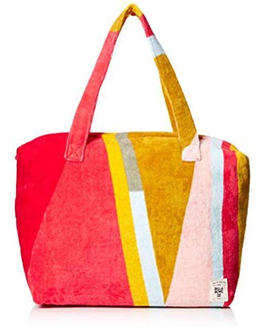 565cf24b37 Lyst - Billabong Chasing Paradise Tote Bag in Red - Save 18%