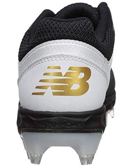 34a961c7e ... New Balance - Black Fresh Foam Spvelov1 (white gold) Women s Cleated  Shoes ...