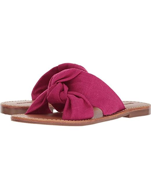 Soludos - Multicolor Knotted Slide Sandal Flat - Lyst