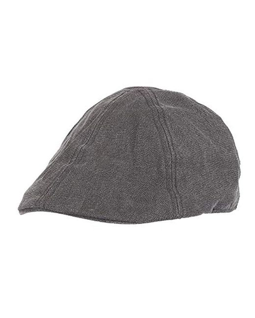 0b0803c11b1 Levi s - Black Ivy Newsboy Hat for Men - Lyst ...