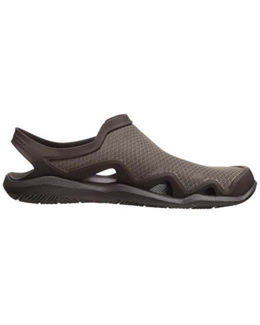 d9cf08a91e4 ... Crocs™ - Multicolor Swiftwater Mesh Wave Water Shoe for Men - Lyst ...