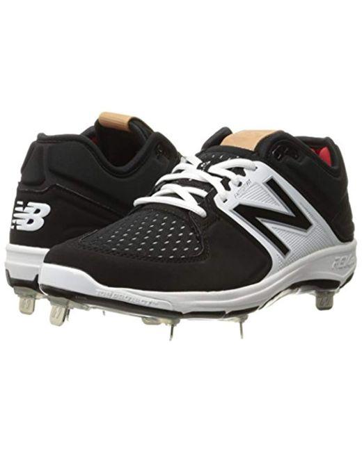 d002caf777e5 ... New Balance - Black L3000v3 Metal Baseball Shoe for Men - Lyst ...