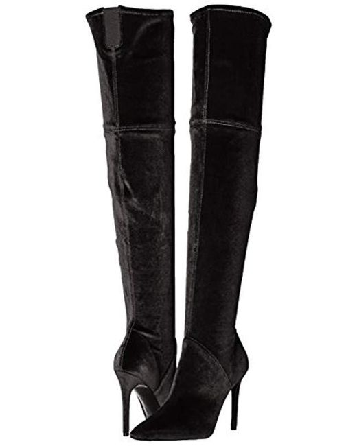 a3a5aa310fc ... Kendall + Kylie - Black Ayla2 Over The Knee Boot - Lyst ...