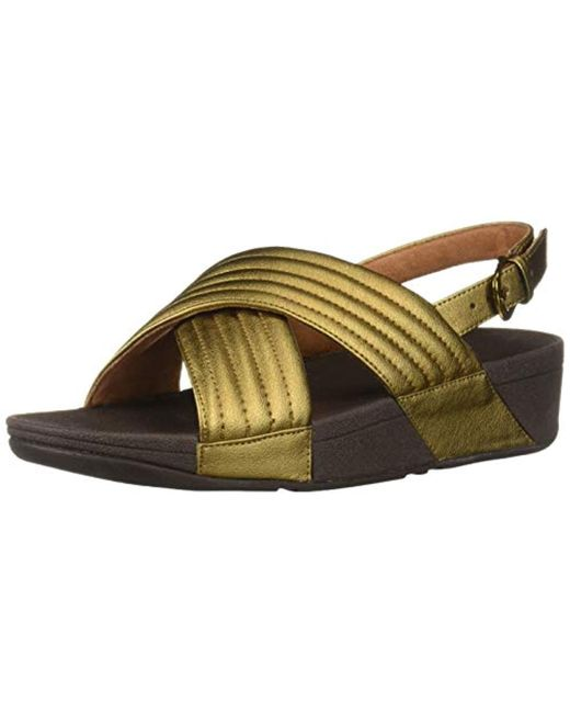 7980e8a09 Fitflop - Multicolor Lulu Padded Sandal Flip-flop - Lyst ...