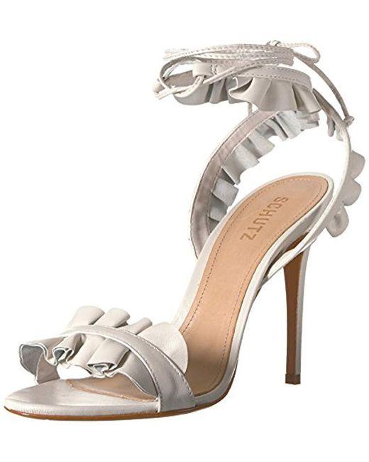 Schutz - Multicolor Irem Heeled Sandal - Lyst
