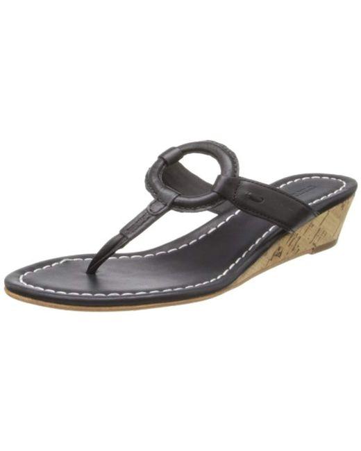 Bernardo - Black Matrix Wd Wedge Sandal - Lyst
