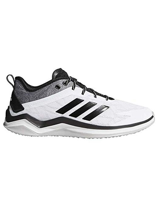newest f8f2f 7065f Adidas - Speed Trainer 4 Baseball Shoe, Crystal Whiteblackcarbon, ...