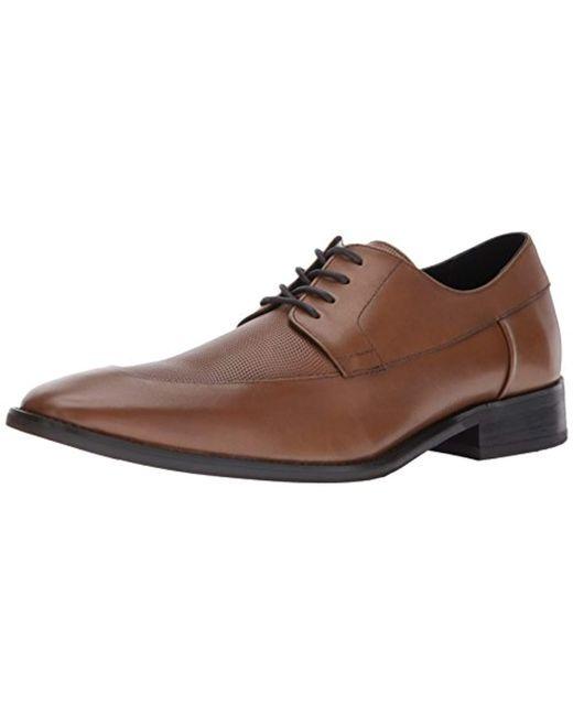 Calvin Klein - Brown Rambert Calf Lthr Oxford for Men - Lyst